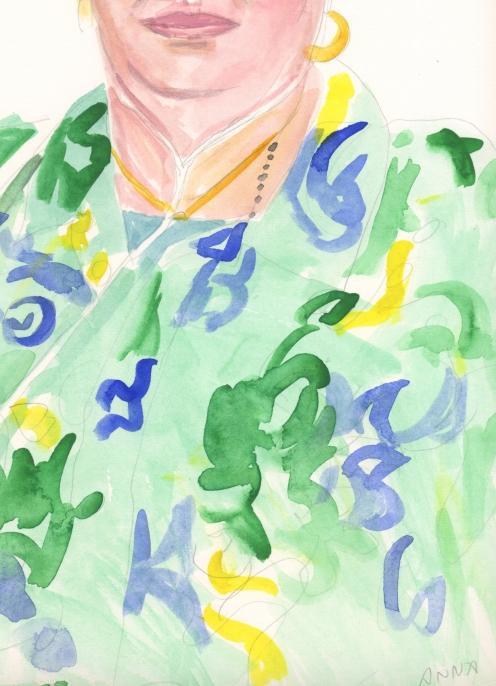 Portrait #11 (Anna Cuevas), detail
