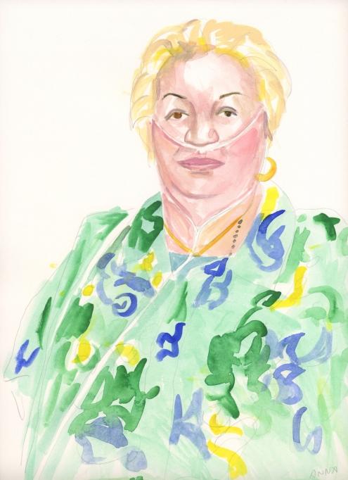 Portrait #11 (Anna Cuevas)
