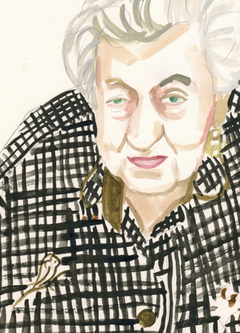 Portrait #13 (Edythe Kershnar), detail