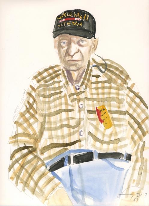Portrait #33 (Albert Levy)