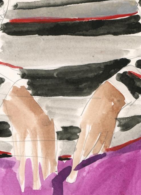 Portrait #45 (Alice Osborne), detail