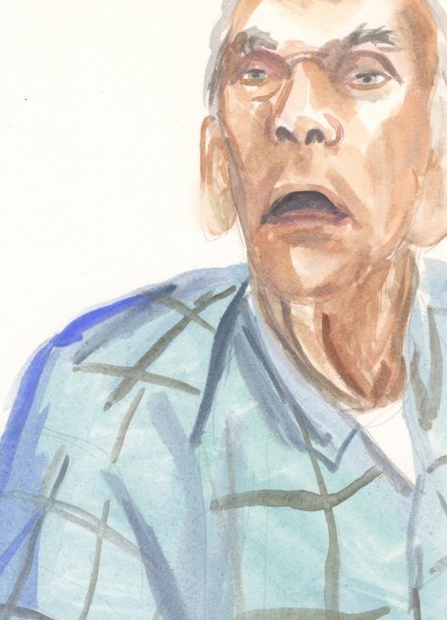Portrait #64 (William Sheldon), detail