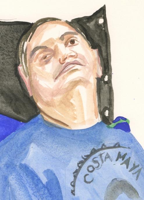 Portrait #67 (Mark Marcucilli), detail