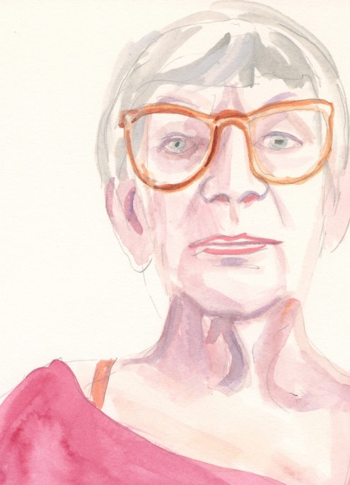 Portrait #77 (Mary Taylor), detail