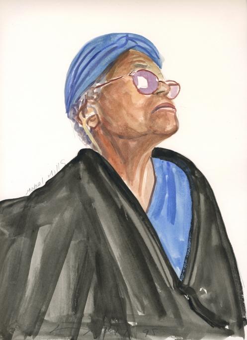 Portrait #95 (Mabel Mills)