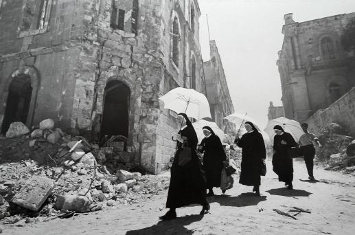 Nuns with umbrellas (edited 8.28.19)